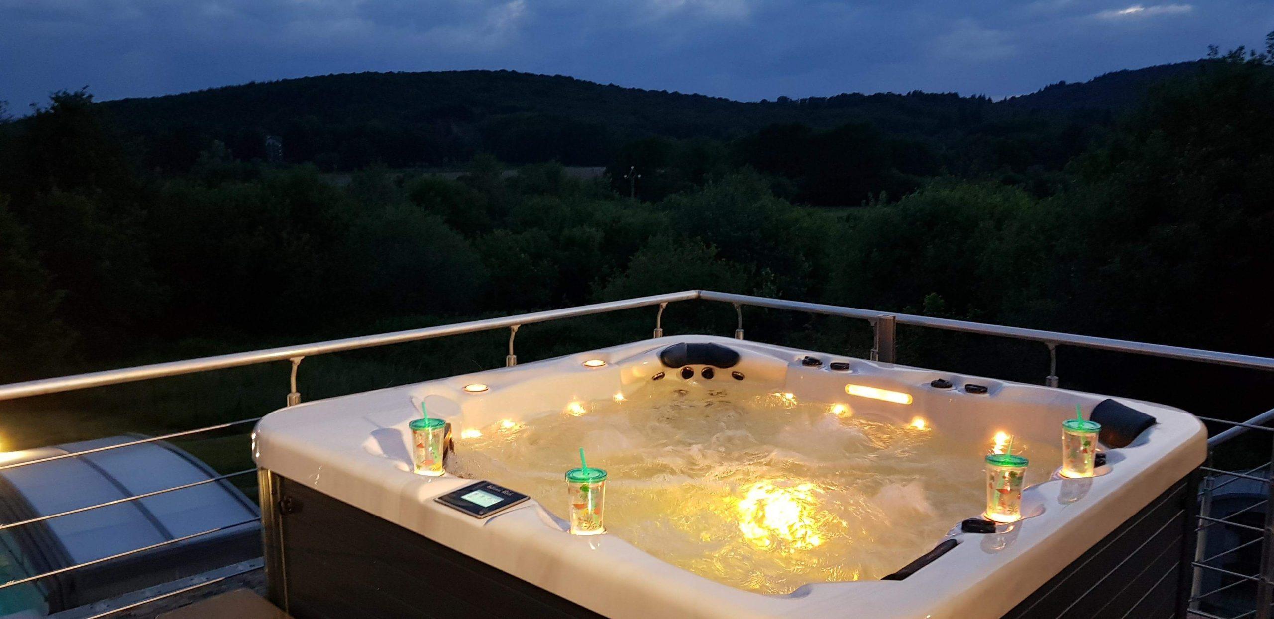 Spa Giovanni Ribolli de nuit
